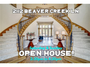 2112 Beaver Creek Ln -- OPEN HOUSE