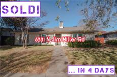 6331 N Jim Miller Rd -- SOLD